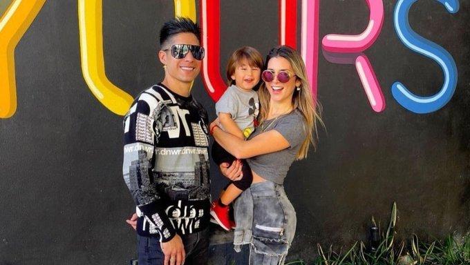 Chyno Miranda y su esposa niegan rumores de separación