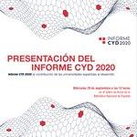 Image for the Tweet beginning: 📢La Fundación CYD se complace