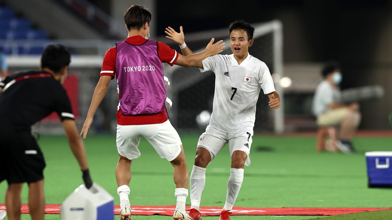 Japón vs Francia 4-0 Fútbol Juegos Olímpicos 2021