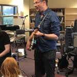 Image for the Tweet beginning: Guitar effects demonstration @rockgodacademy @AHSYork