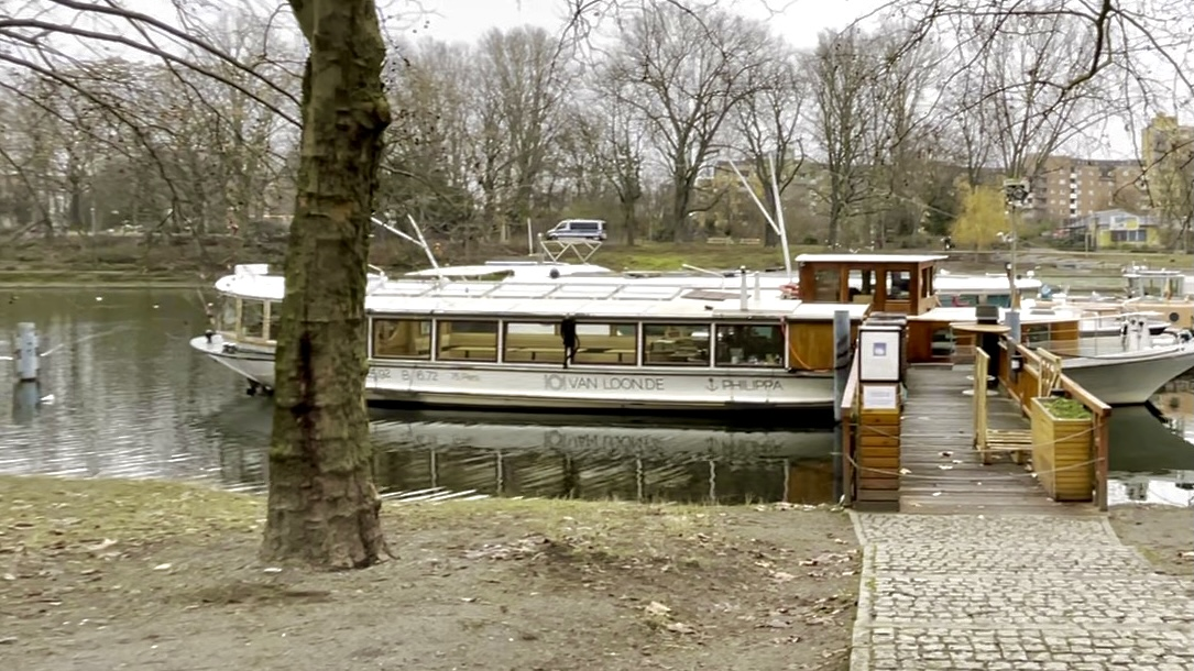 Van Loon Restaurant Boat at Landwehrkanal