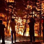 Image for the Tweet beginning: Пожары в Анталье в Турции: