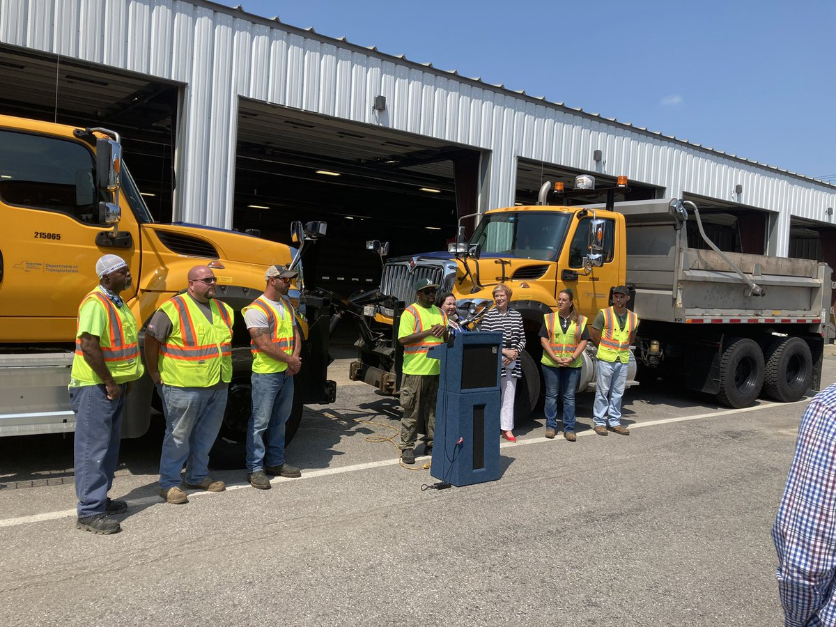 Image posted in Tweet made by NYSDOT on July 28, 2021, 3:53 pm UTC