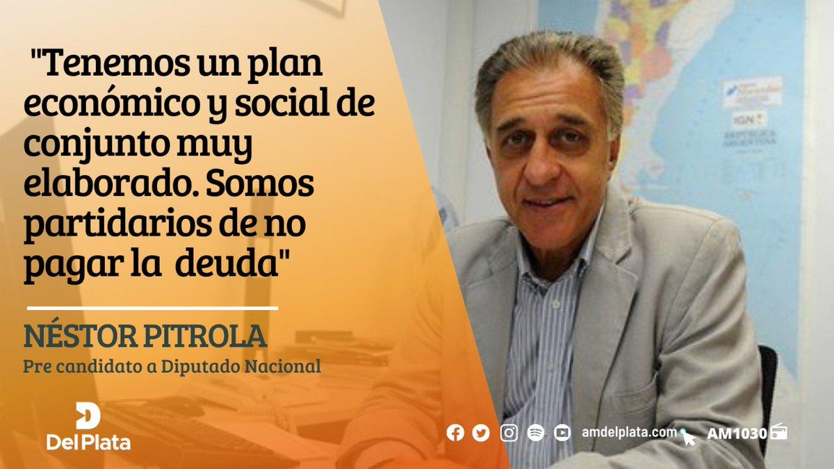 📻 [#AbrimosALas12] Néstor Pitrola (@nestorpitrola), pre candidato a Diputado Nacional, en comunicación con @titifernandez1 y @ale_fabbri  👇Leé y escuchá la nota completa: https://t.co/wxokH7epkt