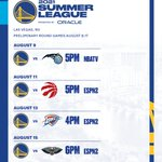 Image for the Tweet beginning: Mark your calendars, #DubNation   Our