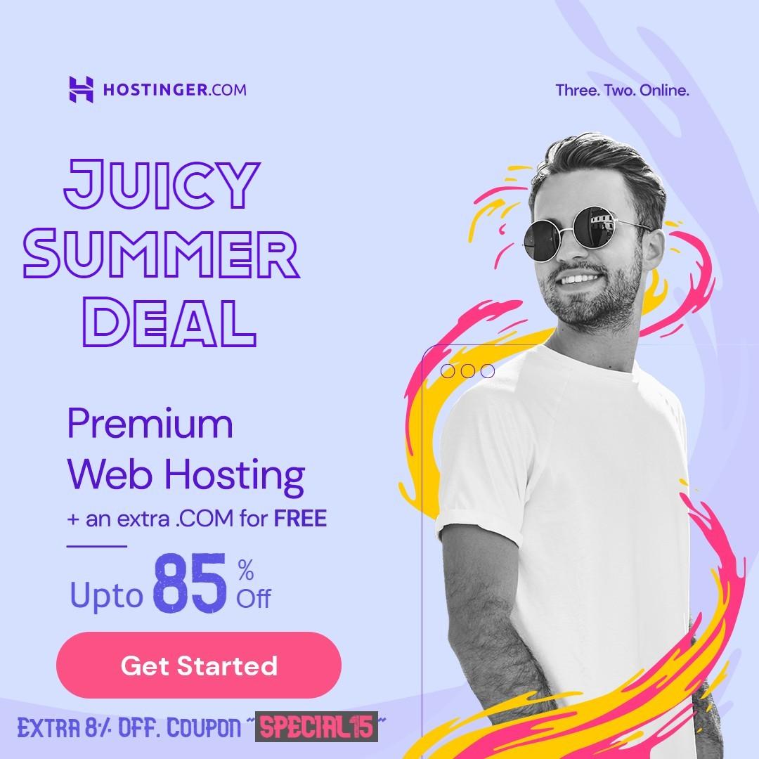Hostinger Summer Sale