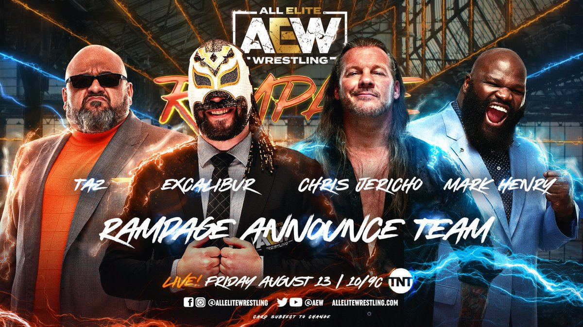 Women's Title And Broadcast Team Announced AEW Rampage