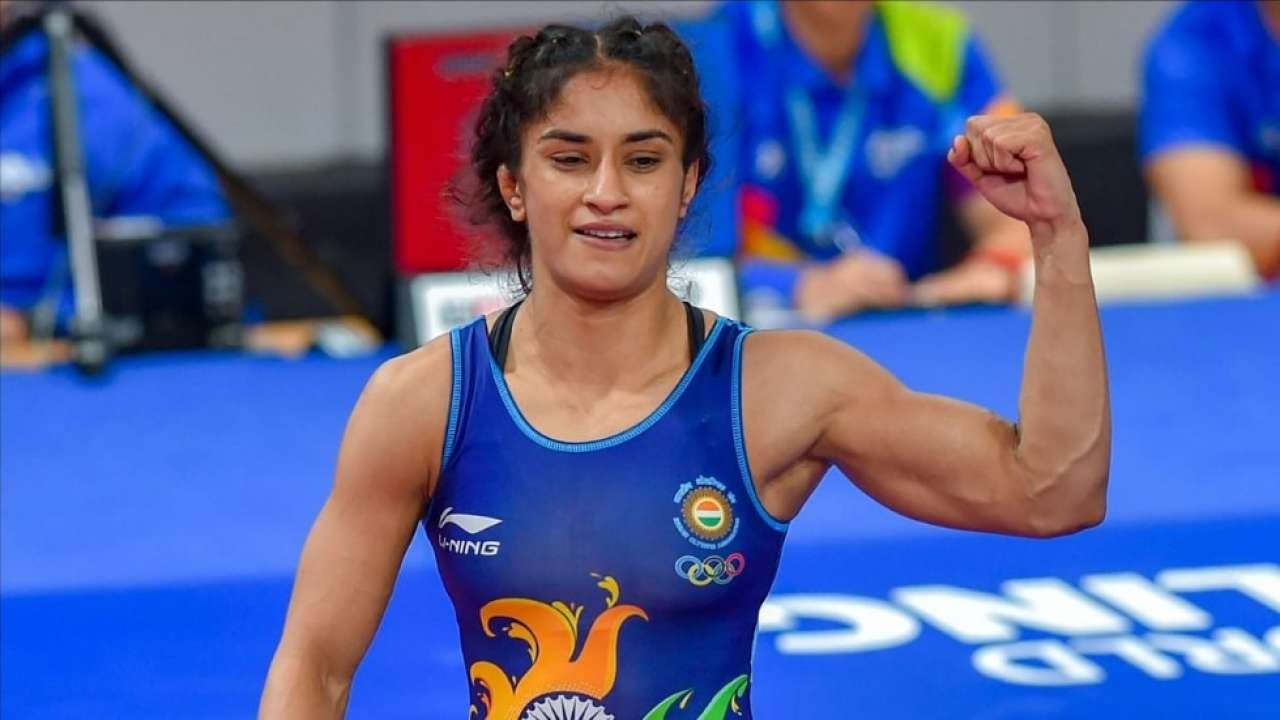 Vineesh Phogat was banned for staying & training away from the Indian team.