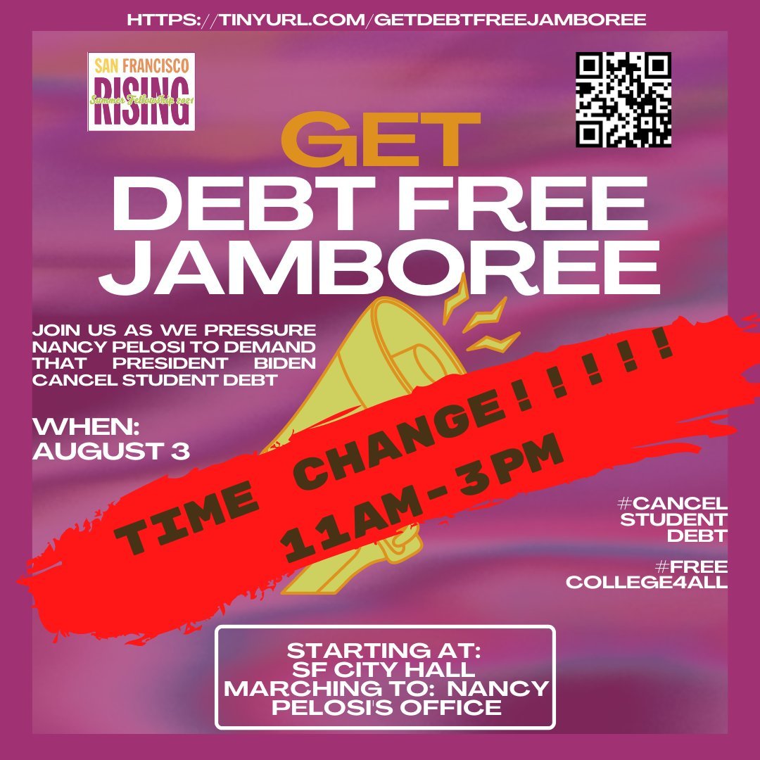 Get Debt-Free Jamboree @ SF City Hall