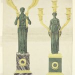 Image for the Tweet beginning: Design for Two Candlesticks, early