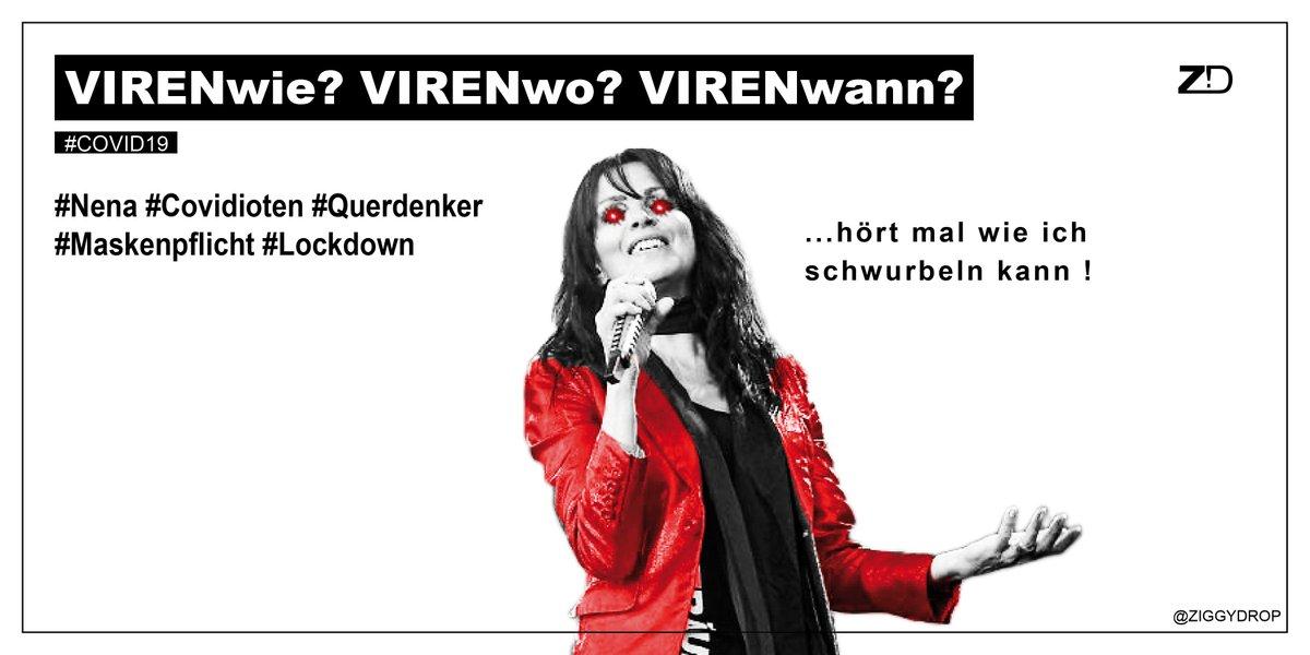 RT @ZIGGYDROP: #Nena #CovidIoten #Querdenker  #Maskenpflicht #Lockdown https://t.co/6EAtiiKfma