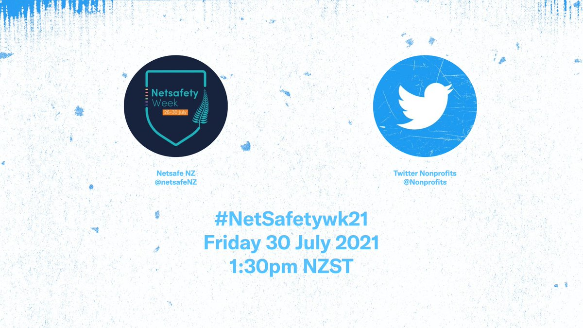 Tomorrow, we're chatting to our partner @NetSafeNZ about 🇳🇿's inaugural #NetSafetywk21 and the team's top tips for staying safe online. Mark your calendars, you won't want to miss out!