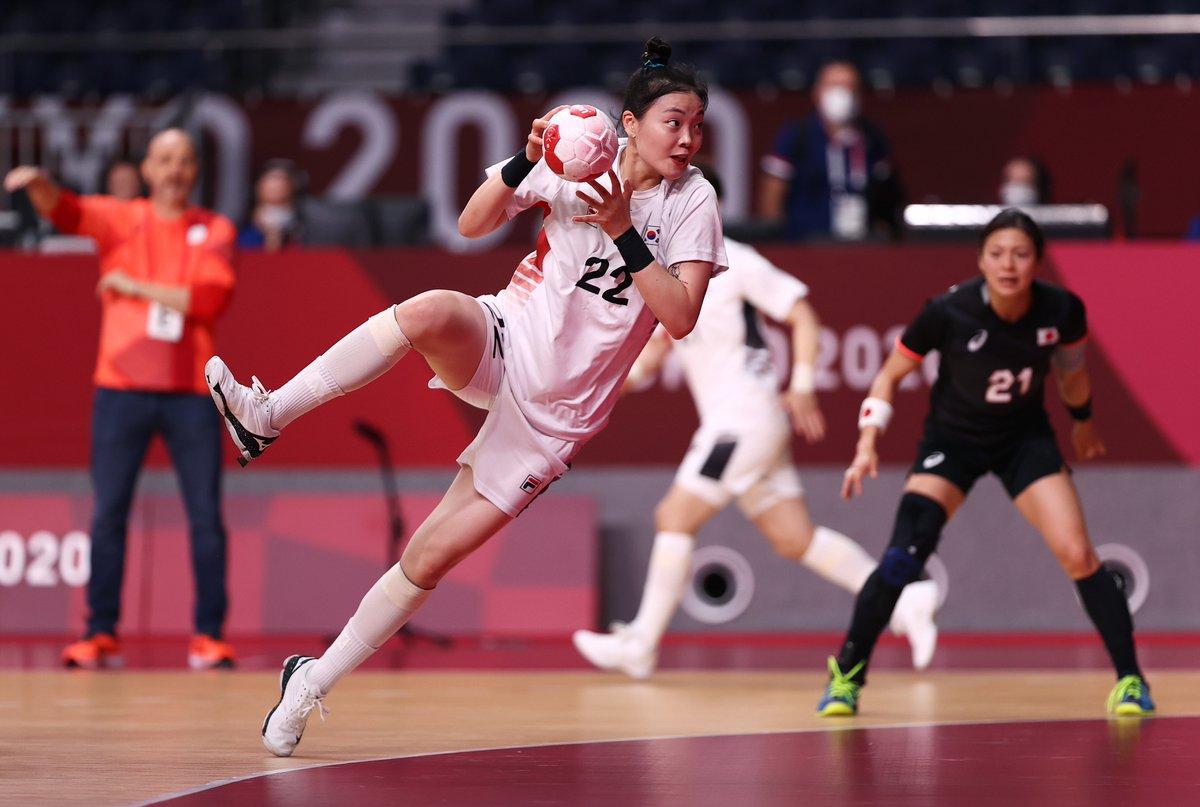 @Tokyo2020ko's photo on 여자 핸드볼