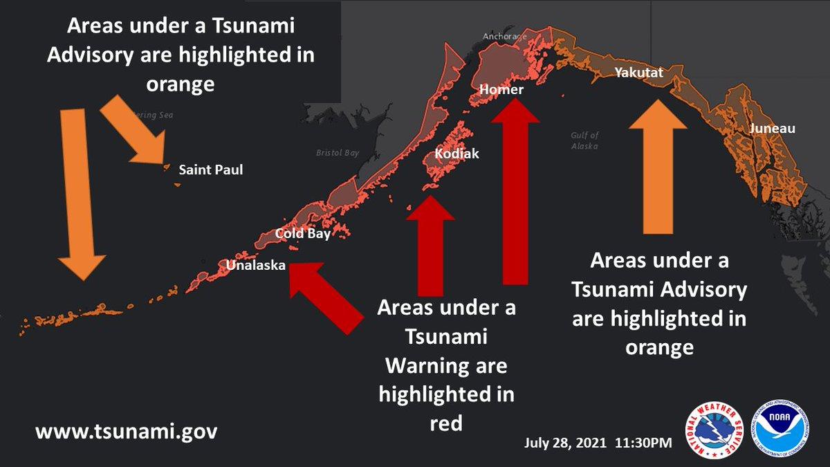RT @NWSAnchorage: A Tsunami Warning remains in effect. A Tsunami Advisory also remains in effect. https://t.co/QLTiROkiri