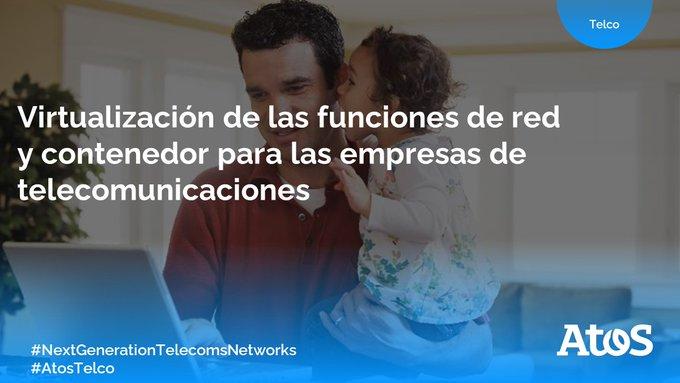 [#AtosTelco] Las empresas de telecomunicaciones exigen un rendimiento, una disponibilidad y...