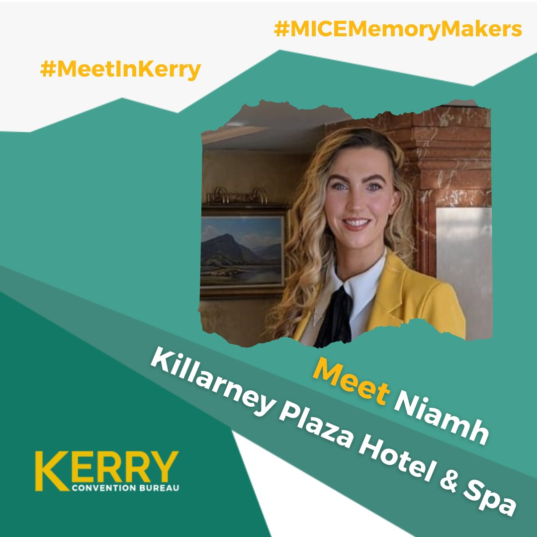 The @KillarneyPlaza is under today's @KCBKerry #MICEMemoryMakers spotlight. The 4* hotel is situated in the heart of Killarney town centre and has a wide range of meeting & event spaces which can cater for up to 250 pax. Make sure to also check out their stunning @CafeDuParcIRL! https://t.co/gE1GaGA7E9