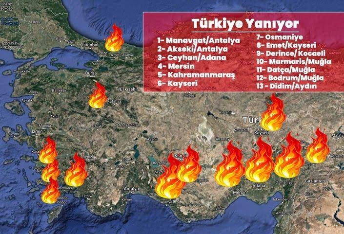 """Kerem Donat 🌈 on Twitter: """"Tüm Türkiye yanıyor! Failleri bulun, yangını söndürün. Türkiye'nin yok etmediğiniz bir tek doğal güzellikleri kaldı! #manavgatyanıyor… https://t.co/inwtSZ27wK"""""""