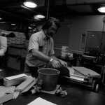 Image for the Tweet beginning: Happy #ThrowbackThursday from GPO Bookbinders