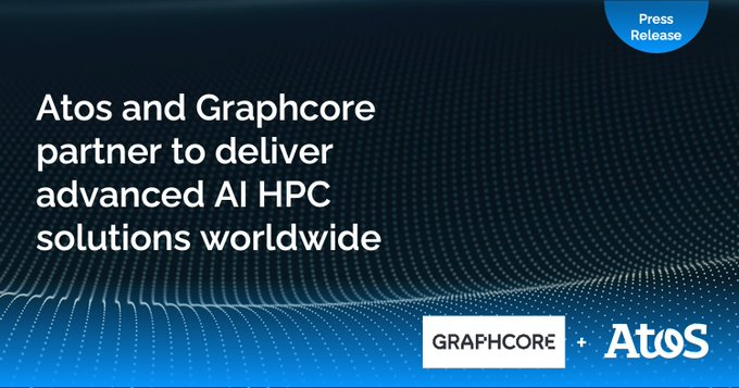 Die Partnerschaft von Atos und Graphcore beschleunigt Leistung und Innovation im Bereich #KI....