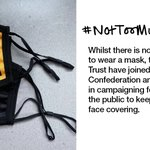 Image for the Tweet beginning: We're joining the @NHSConfed's #NotTooMuchToMask