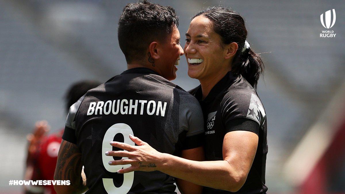 test Twitter Media - All unbeaten. All through to the quarter-finals. 🎉  🇳🇿 @BlackFerns  🇦🇺 @Aussie7s  🇺🇸 @USARugby  🇫🇷 @FranceRugby   #HowWeSevens | #Rugby | #Tokyo2020 https://t.co/kFODzmiUwW