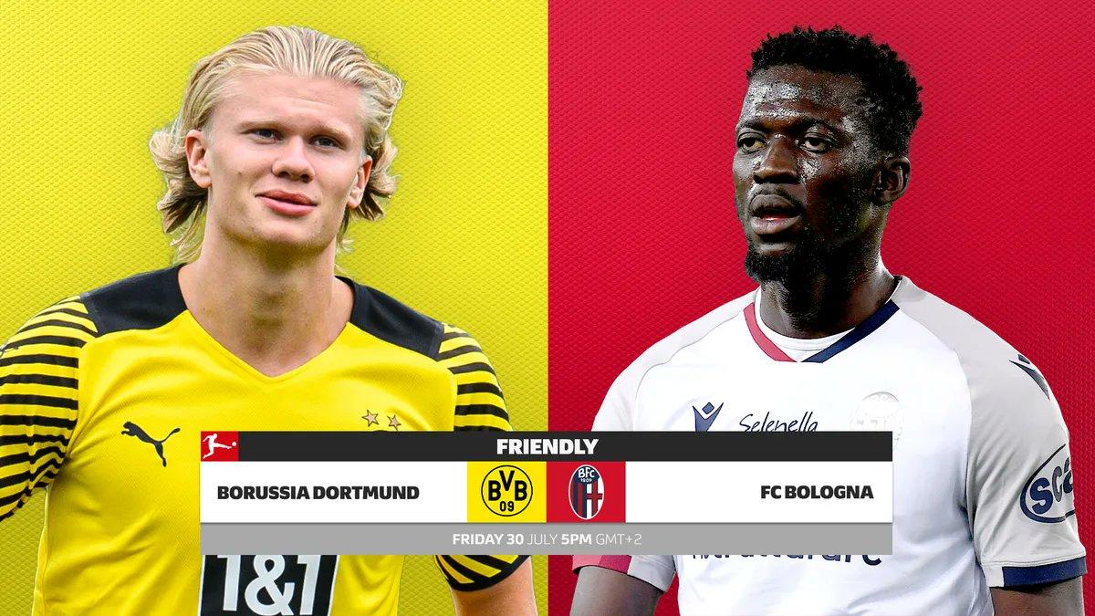 Dortmund vs Bologna Full Match & Highlights 30 July 2021