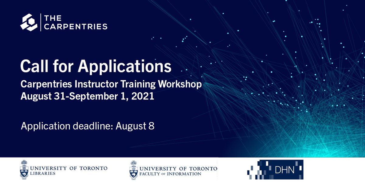 🗣 CDHI is excited to announce the success of the Technical Skills Outreach Project funded collaboratively with the Chief Librarian Innovation Grant! Click for more details: https://t.co/TqRt0TDyQm #digitalhumanities #Training #Call #Workshop