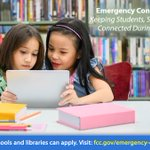 Image for the Tweet beginning: WEBINAR: Emergency Connectivity Fund Program