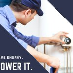 #HomeEfficiencyTip: Lower your water heater temperature. For safety and efficiency, set your water heater thermostat to 120 F.