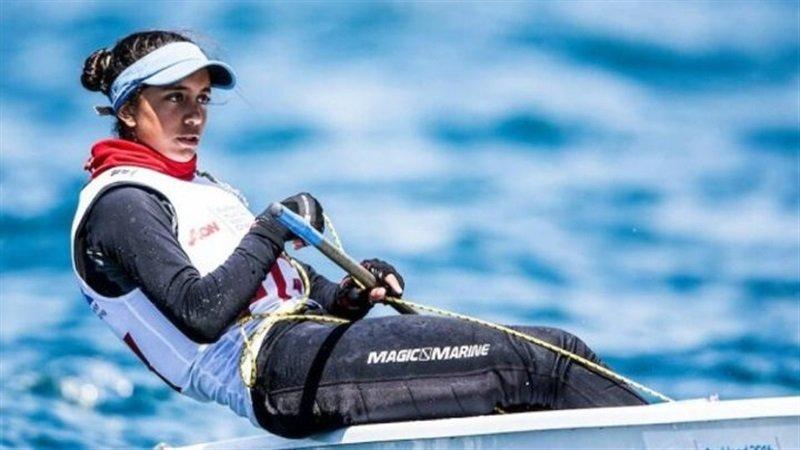 لاعبة الشراع خلود منسي - أولمبياد طوكيو