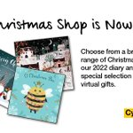 Image for the Tweet beginning: Our 2021 Christmas online shop