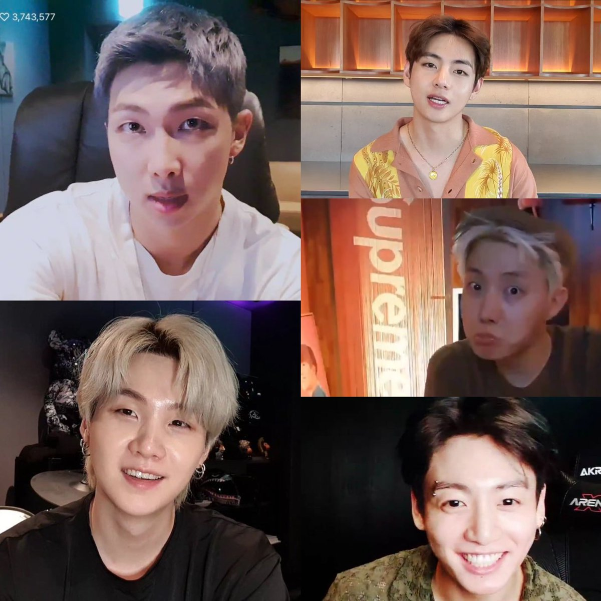 RT @sugatistic: we got vlives from Namjoon, Taehyung, Yoongi, Hobi and Jungkook all in the month of July https://t.co/y6f4QgX96Z