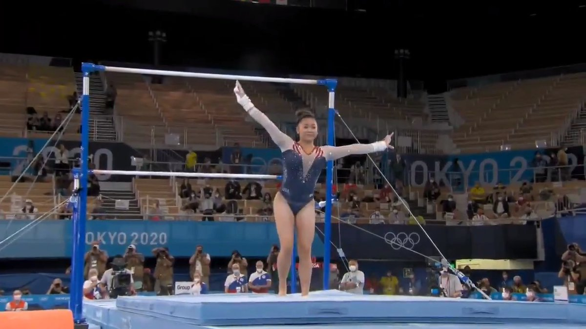 It's such a treat watching you take flight! ✈️💙  Congratulations @sunisalee_ on bringing home the gold! 🥇🏆🇺🇸