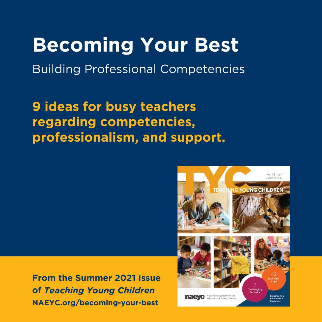 """These are great ideas! """"You'll be a better teacher for the children when you're at your best."""""""