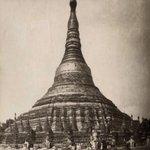 Image for the Tweet beginning: Pagoda Shivé Rangún Birmania circa
