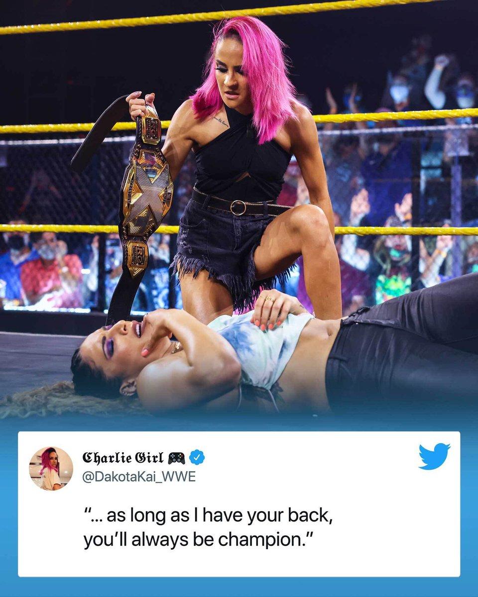 RT @WWENXT: Looks like #WWENXT Women's Champion @RaquelWWE had to learn the lesson the hard way… https://t.co/K5zFJWFdQW