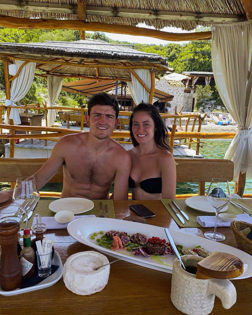 RT @UtdPlug: Harry Maguire on holidays in Croatia 🇭🇷😍