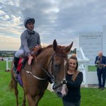The lovely Clipper Logistics filly, Improvised, completed a hat trick tonight @EpsomRacecourse under Danny Tudhope! 👏👏