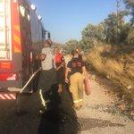 Image for the Tweet beginning: İtfaiye ekiplerimiz Antalya ve Muğla'ya