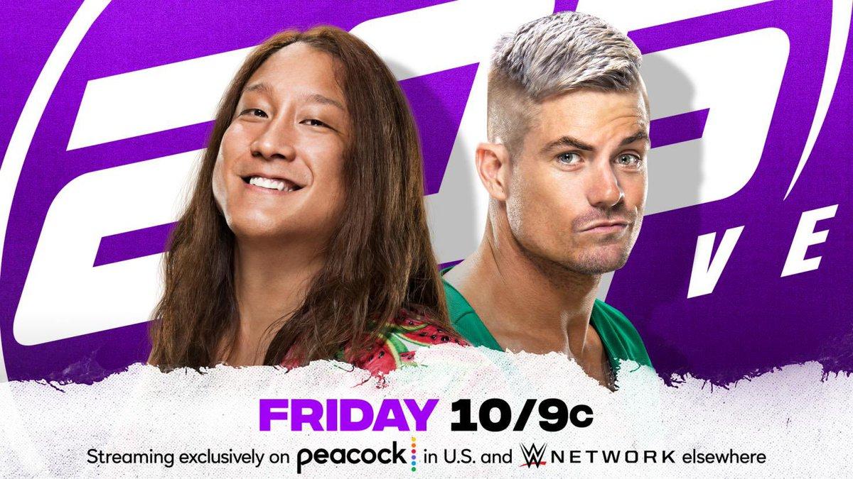 RT @IkemenJiro_wwe: It's tomorrow night🕙  Ikemen vs @GraysonWWE   I'm ready!!  #205live #WWE #WWENXT  @WWE205Live https://t.co/086QiQuGKy