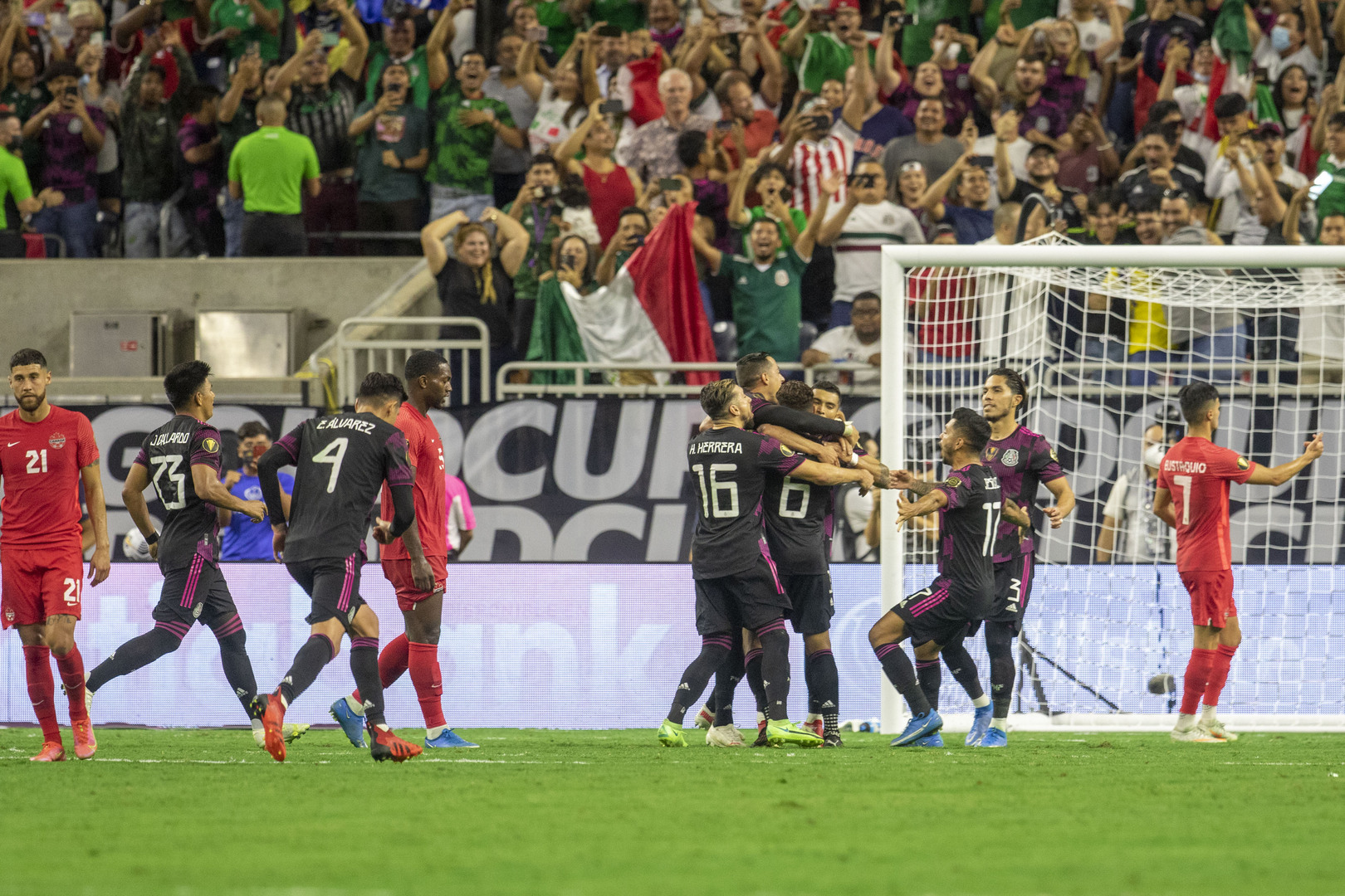 México vs Canadá 2-1 Semifinales Copa Oro 2021