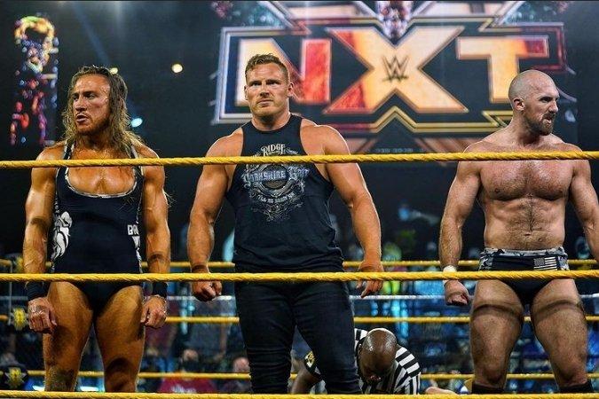 I can get down with this faction!! Damn fierce!! @ONEYLORCAN @PeteDunneYxB #WWENXT https://t.co/wjS51qKnQz
