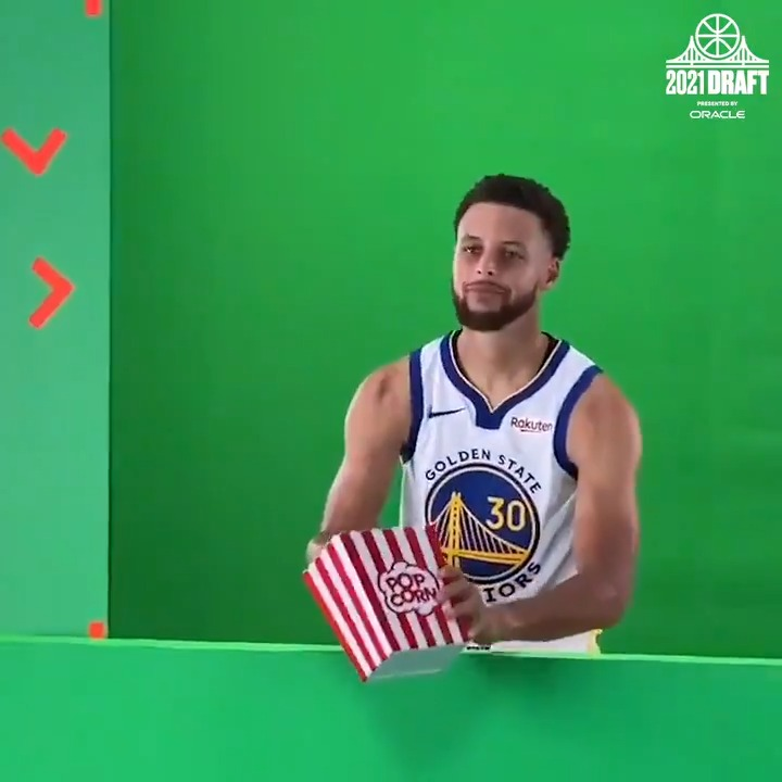 Image for the Tweet beginning: Get your popcorn ready.  #DubsDraft, presented