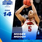 Image for the Tweet beginning: Welcome to #DubNation, @mosesmoody 💯  #DubsDraft