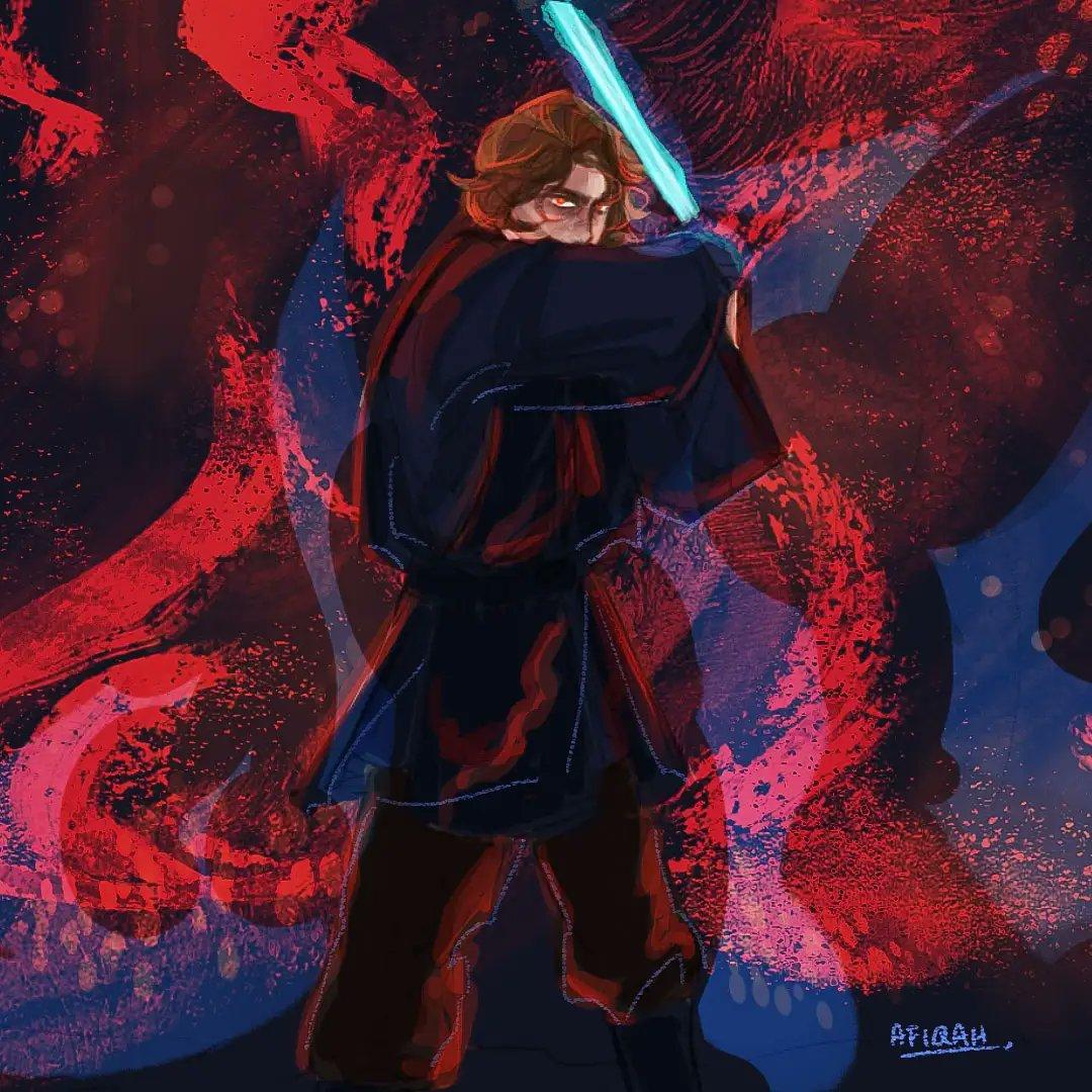 Sad boi Anakin  #StarWars #anakinskywalker #StarWarsFanArt https://t.co/Sioch7eU7v