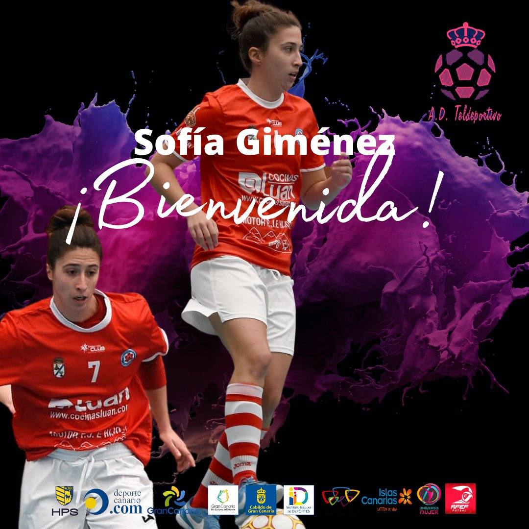 ImagenEl Gran Canaria Teldeportivo ficha a Sofía Giménez