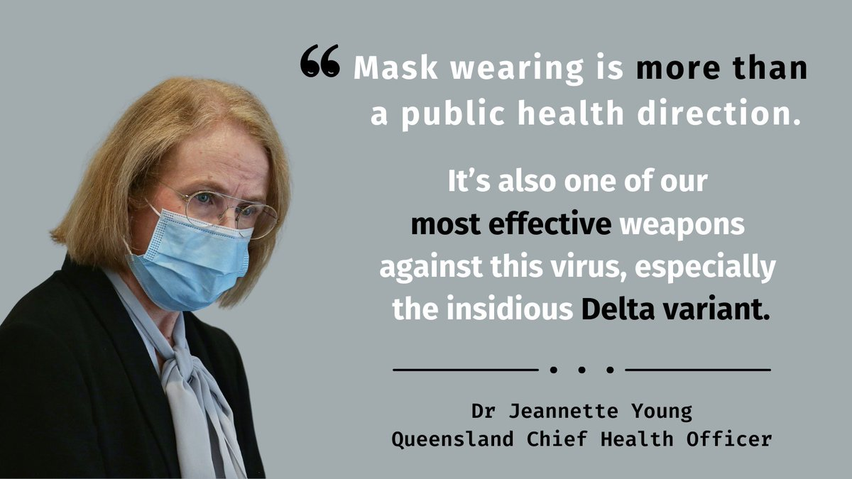 """Queensland Health on Twitter: """"🗣️Dr Jeannette Young: """"Queensland, COVID-19  is coming."""" """"We've done so well so far, thanks to you. But our toughest  test is almost certainly still in front of us."""""""