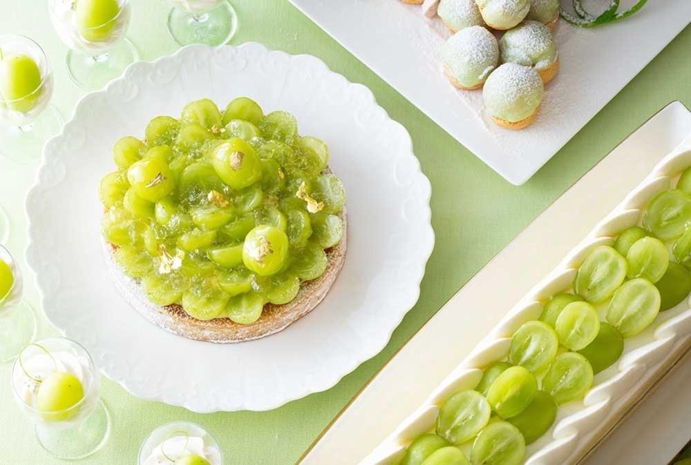シャインマスカットのデザートブッフェが誕生!ケーキやタルトなど品ぞろえも豊富!