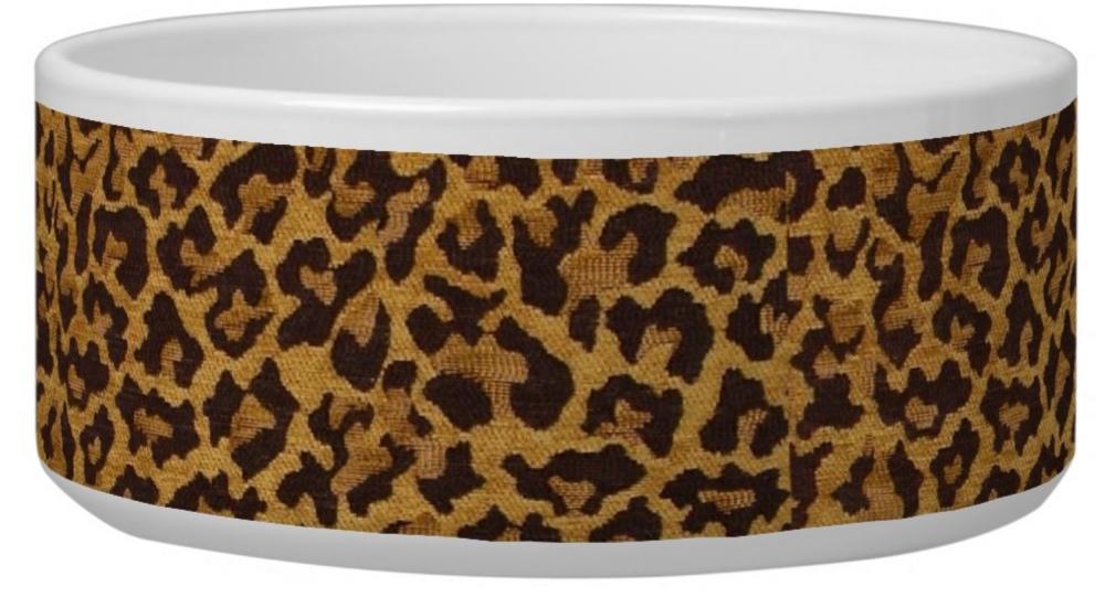 RT  #RAB #rockabilly #Leopard Print #Dog Bowl 2 sizes medium and large #pets #petsupplies #dogdish #dogbowl #petgifts