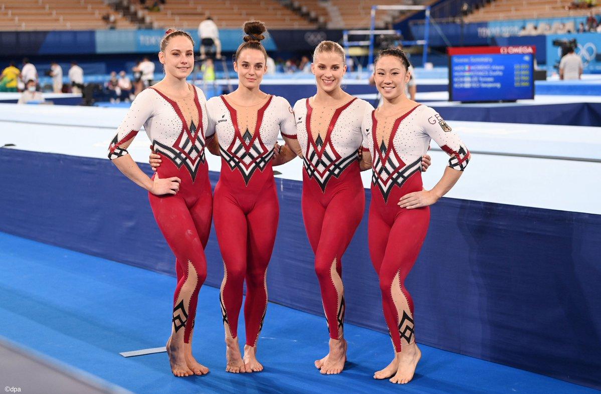 ドイツ女子体操選手、ユニフォームでユニタードを着て話題となる!